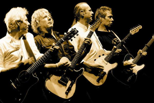 Concert Status Quo in 013 Tilburg, NL