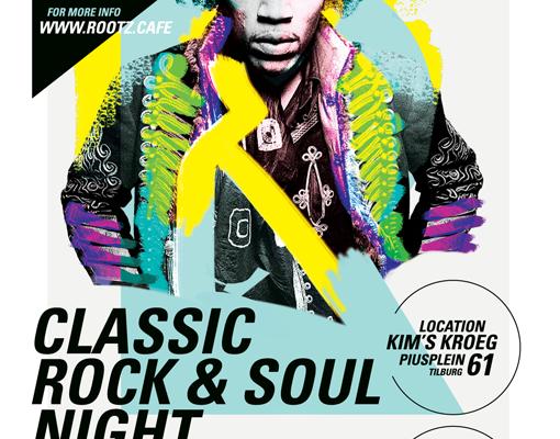 Rootz Café Classic Rock&Soul Edition 09.09.2017 Kim's Kroeg – Tilburg
