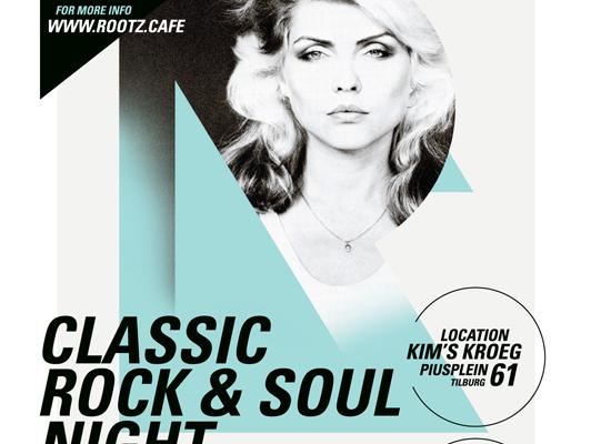 ROOTZ CAFÉ CLASSIC ROCK&SOUL&NEW WAVE at Kim's Kroeg 14.10.2017