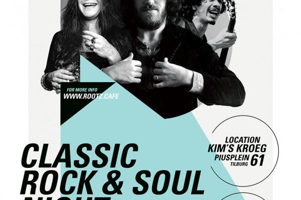 "ROOTZ CAFÉ Classic Rock&Soul Evening ""Summer of Love"" edition"