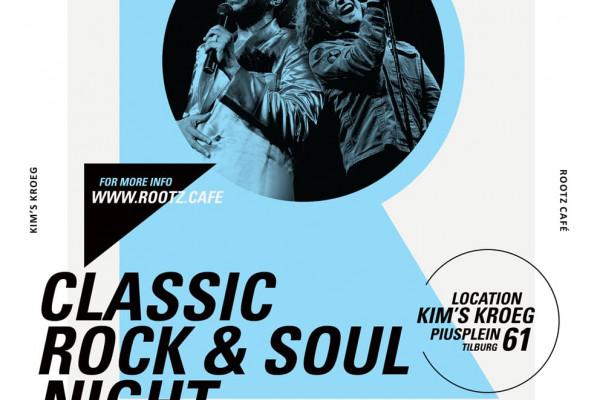 ROOTZ CAFÉ CLASSIC ROCK&SOUL NIGHT AT KIM'S KROEG ON 24.02.2018