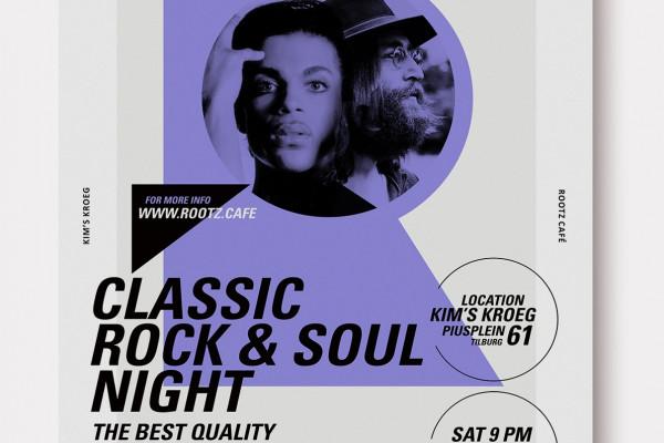ROOTZ CAFÉ Classic Rock&Soul Night 26.05.2018 Kim's Kroeg – Tilburg