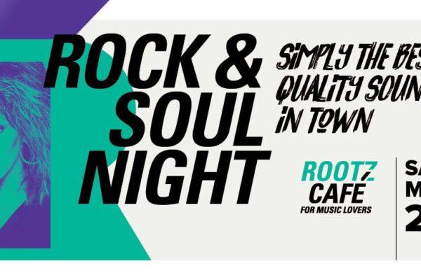 ROOTZ CAFÉ ROCK&SOUL NIGHT 23 March 2019 Kim's Kroeg in Tilburg