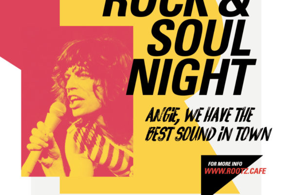 Rootz Café Rock&Soul Night at Kim's Kroeg on 22nd of June'19 Tilburg/NL